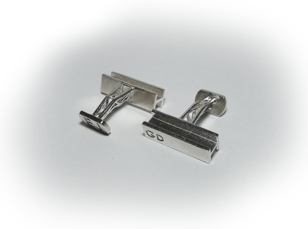 Steel Beam Cufflinks