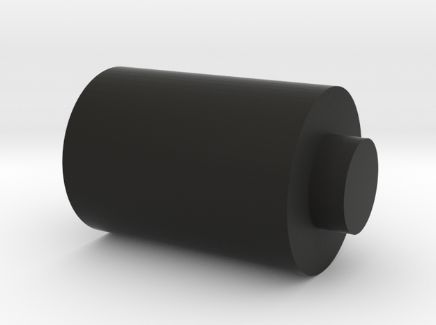 Wheel Rod in Black Natural Versatile Plastic