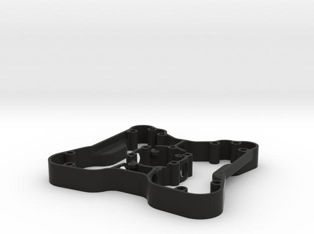 Build Kit 9 - Button Plate Enclosure in Black Strong & Flexible