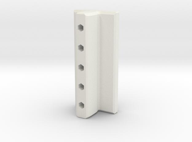 Premsa Inferior IO in White Natural Versatile Plastic