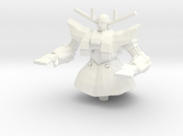 MSN-02 Zeong 1:1000 in White Processed Versatile Plastic