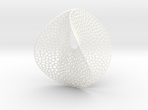 Enneper Voronoi Dreamcatcher (M / 11cm / 4.3 Inch) 3d printed