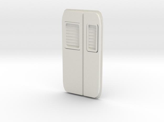 SBB Rb 540 Lüfter Set Ersatzteil 2 in White Natural Versatile Plastic: 1:120