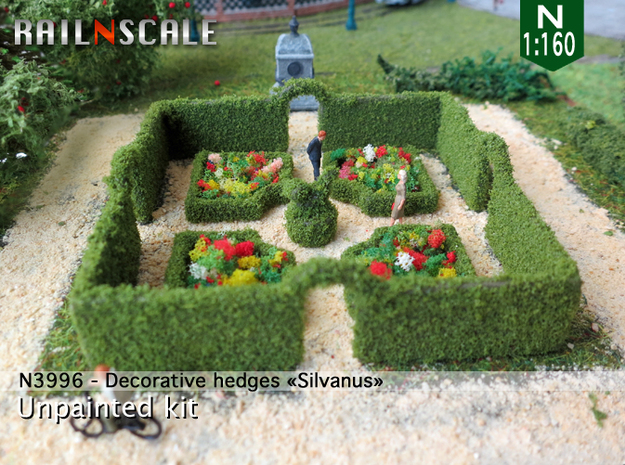 Decorative hedges Silvanus (N 1:160)