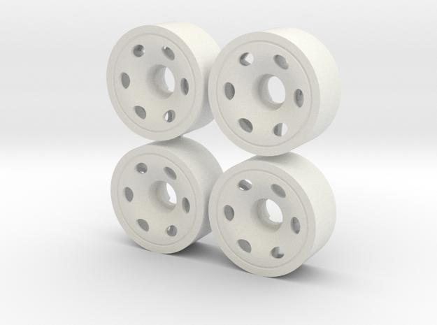 MINI Z FRONT 195 +00 in White Natural Versatile Plastic