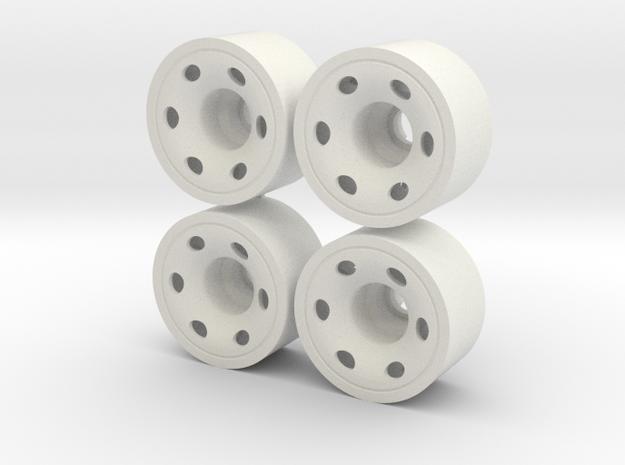 MINI Z-REAR 208 +03 in White Natural Versatile Plastic