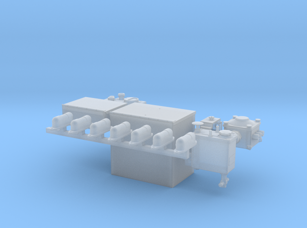 1-16th Generic interior panzer parts 2 in Smoothest Fine Detail Plastic