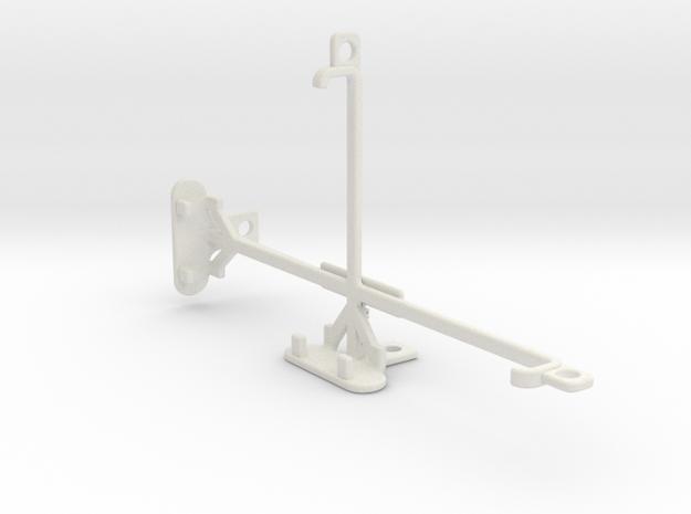 Lenovo Phab2 tripod & stabilizer mount in White Natural Versatile Plastic