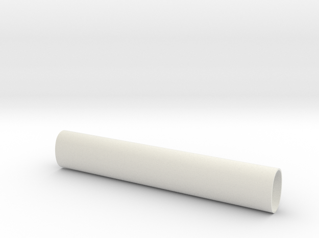 ESB Sidearm Barrel in White Natural Versatile Plastic