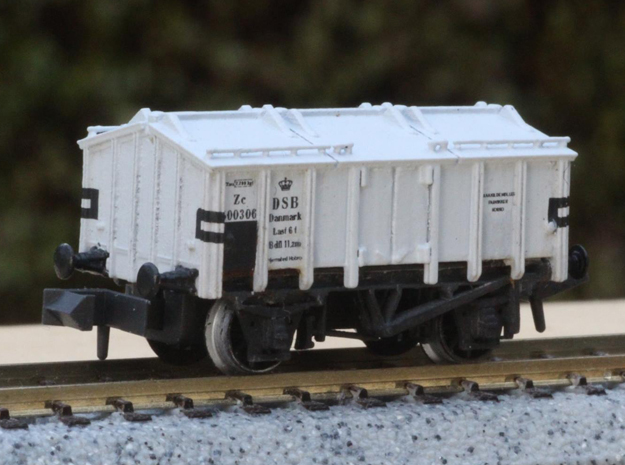 DSB Zc in N scale in Smoothest Fine Detail Plastic