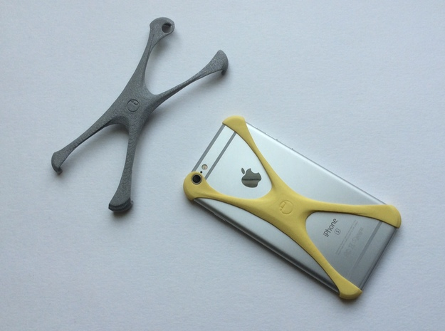 X-muscle-case 6S.1. in Yellow Processed Versatile Plastic