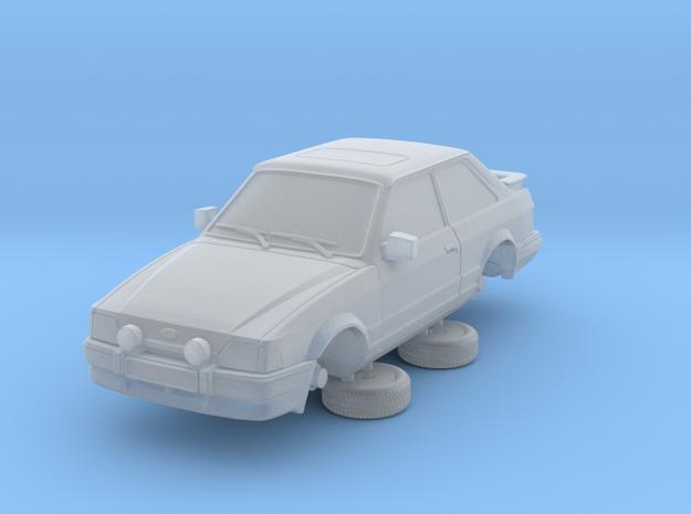 Ford Escort Mk4 1-76 2 Door Xr3i Hollow