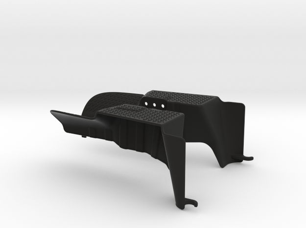 Axial Wraith Rear Inner Fenders in Black Strong & Flexible