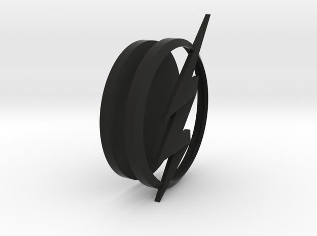 THE FLASH - Jesse Quick Chest Emblem in Black Natural Versatile Plastic