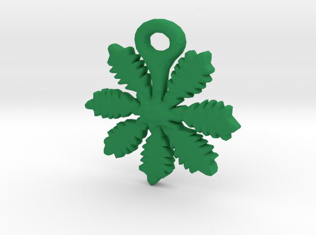 Weedy Mcweed in Green Processed Versatile Plastic