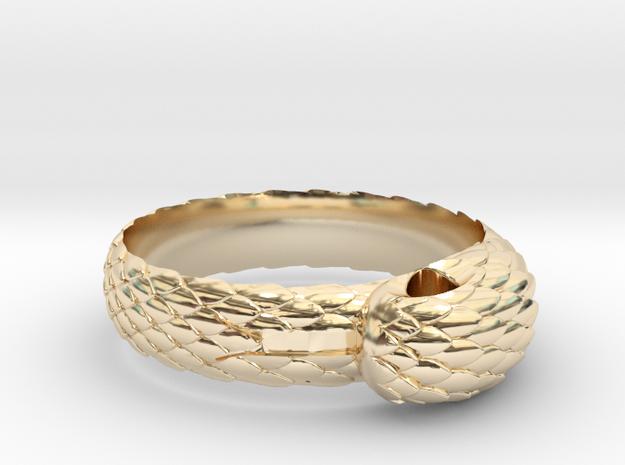US10 Snake Ring: Tritium
