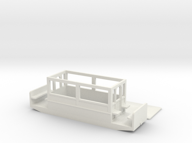 Volks Railway Car 2 of 1885  009 in White Strong & Flexible