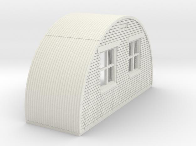 N-76-back-end-brick-nissen-hut-16-36-1a in White Natural Versatile Plastic