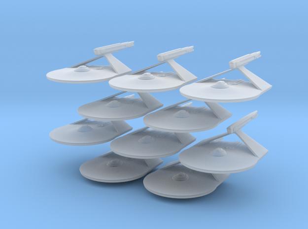 1/7000 Destroyer Larson v1 - 10 ships pack in Smooth Fine Detail Plastic