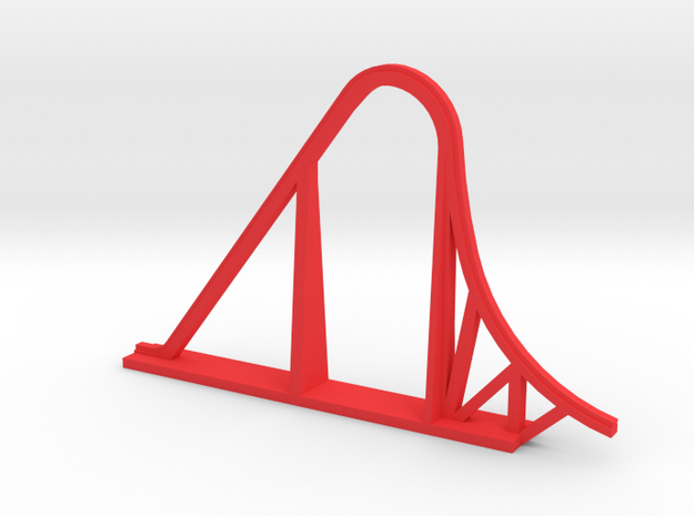 Indimidator 305 Roller Coaster in Red Strong & Flexible Polished