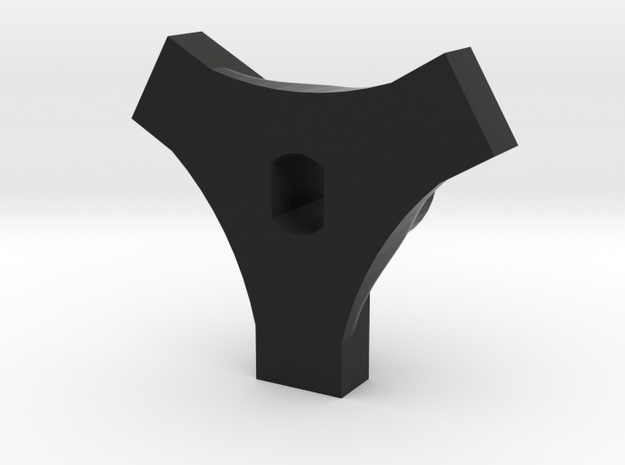 Cheater Locker Front Plate V2 in Black Strong & Flexible