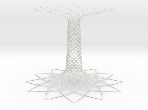 Tree of Life EXPO Milano 2015 in White Strong & Flexible