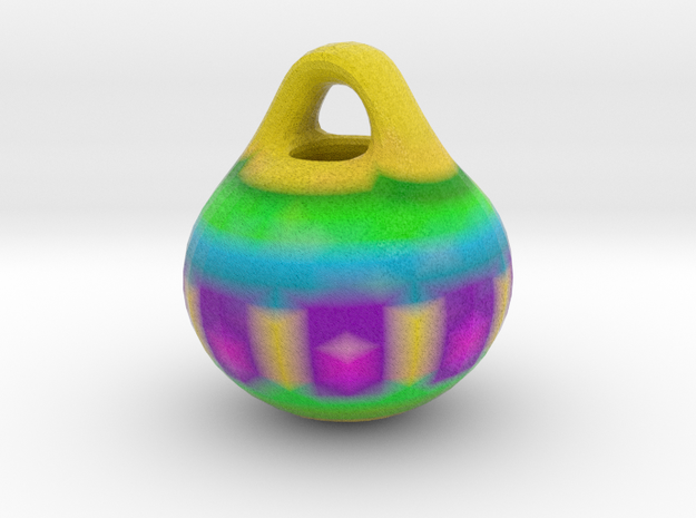 Multi-Colored ORNAMENT in Full Color Sandstone