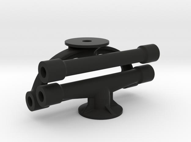 Margouillat | 3 tubes de renfort in Black Strong & Flexible