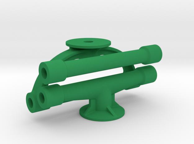 Margouillat | 3 tubes de renfort in Green Processed Versatile Plastic