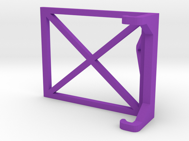 Simple iPhone Stand in Purple Strong & Flexible Polished