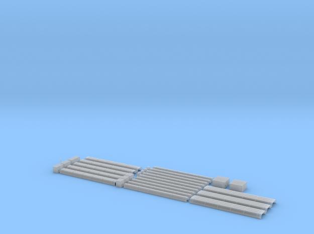 Blechkanal Form I II III 1zu22,5 in Smooth Fine Detail Plastic
