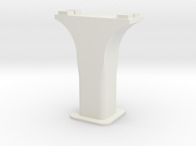 HO/1:87 Precast concrete bridge column set (wide) 3d printed
