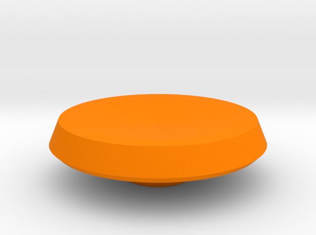 BroConcepts Button 2 in Orange Processed Versatile Plastic