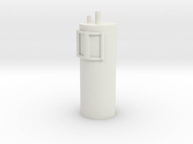 1:16 fire extinguisher model 1 in White Strong & Flexible