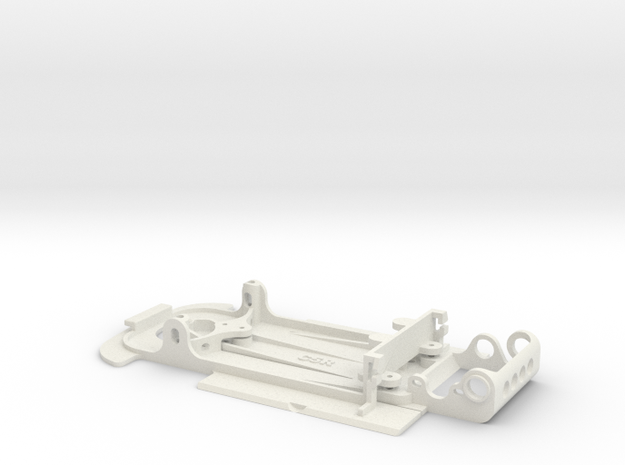 Slot car chassis for C5r 1/28