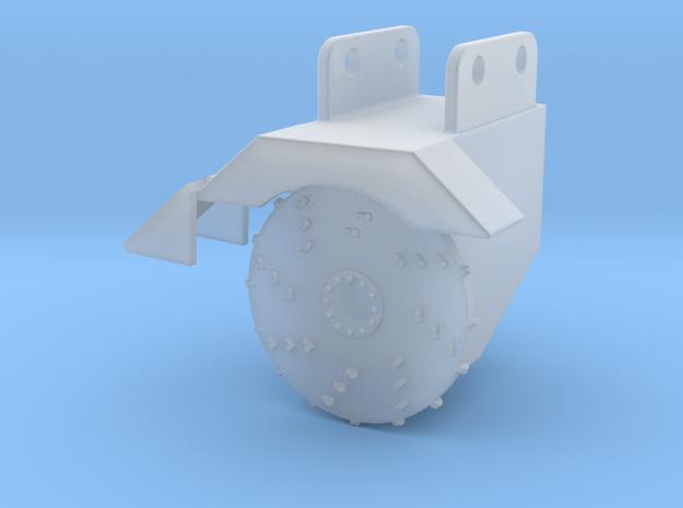 1/87 HO Fecon excavator stump grinder