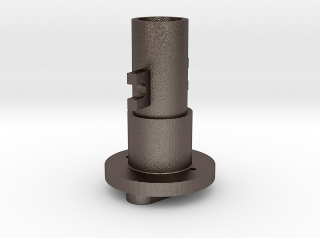 Thrustmaster joystick tailpiece-M in Stainless Steel