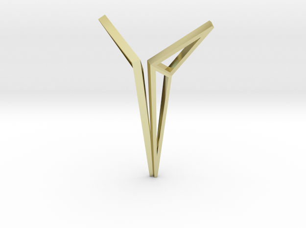 YOUNIVERSAL Origami Structure, Pendant. Sharp Chic