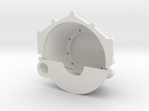 Chevrolet Bellhousing Generic Transmission 1/12 in White Natural Versatile Plastic
