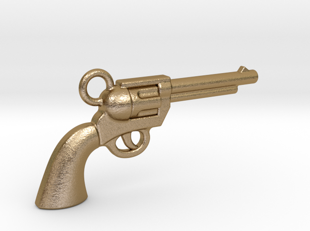 Gun 1611011612 in Polished Gold Steel