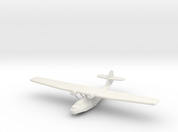 Catalina PBY-5a 1:220th Scale in White Natural Versatile Plastic