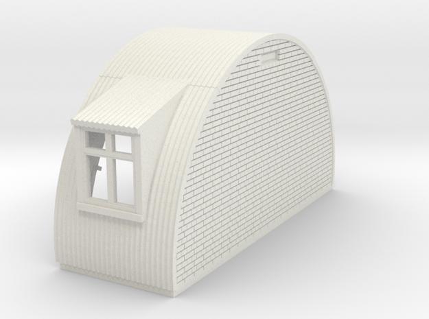 N-87-complete-nissen-hut-end-brick-2-wind-16-36-1a in White Natural Versatile Plastic