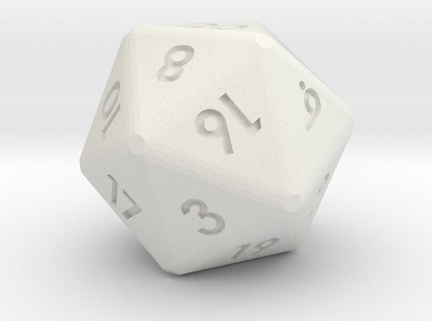 20-sided die (d20)
