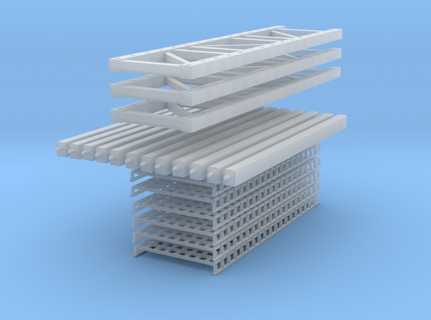 Pallet Racking: 3 High-2 Wide