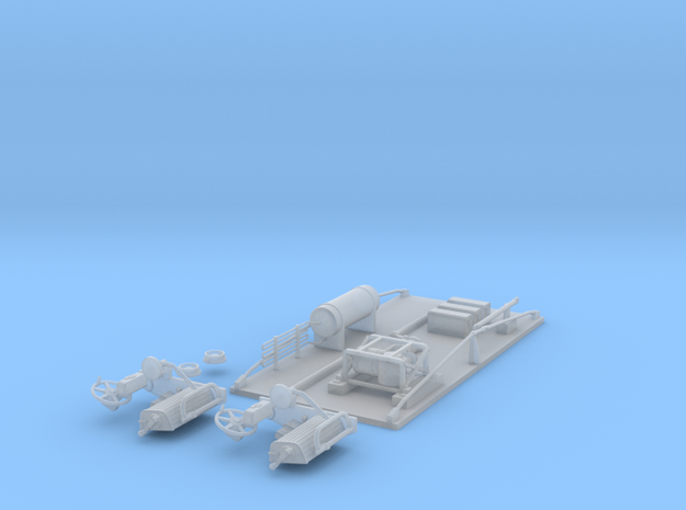 TARS Brill O scale - FINE DETAILS in Smooth Fine Detail Plastic
