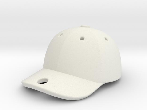 Cap 1611041651 in White Natural Versatile Plastic
