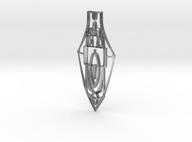 arrowhead large  in Raw Silver