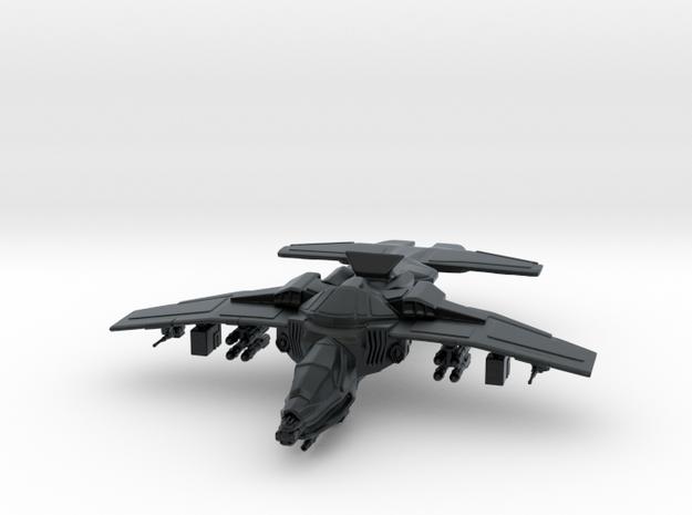 Erinyes Gunship, 15mm in Black Hi-Def Acrylate