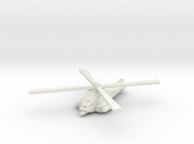Mosquito (ALT rotor) in White Natural Versatile Plastic