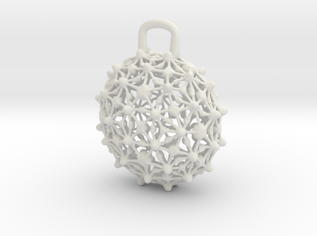 Pendant1t in White Strong & Flexible
